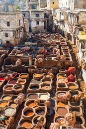 Fes Tanneries_Morocco