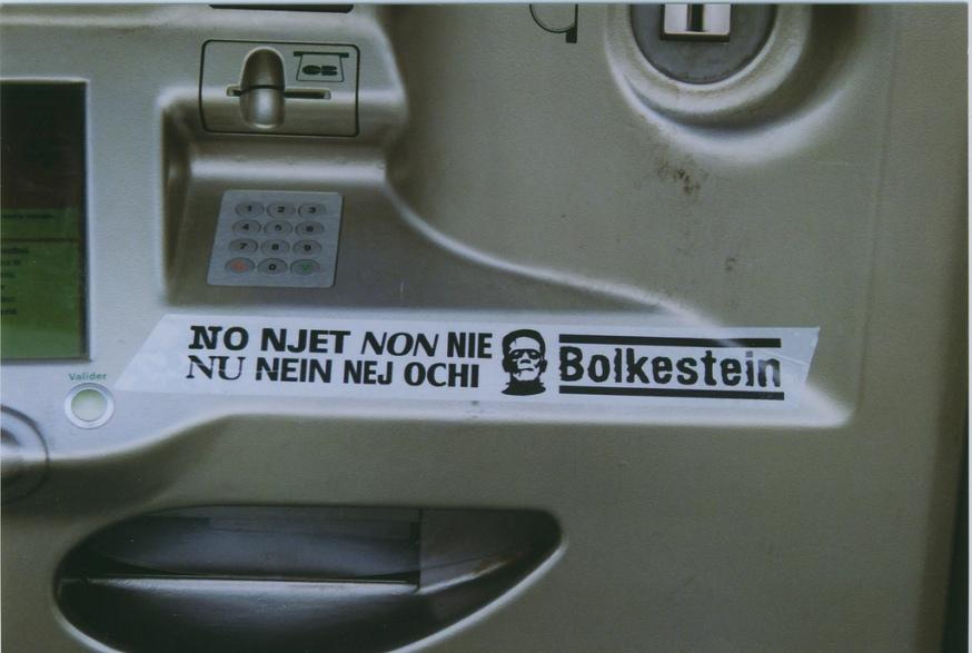 Bolkestein , ja  Dat waren nog eens tijden !