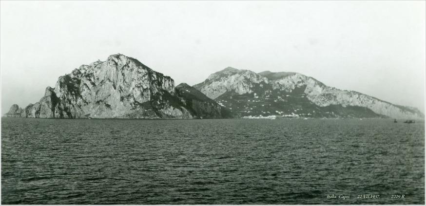 Italia. Capri. 22.VII.1937. 2229 R (Kupljena razglednica nema drugih podataka)
