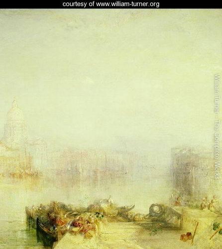 The Dogana and Santa Maria della Salute, Venice, 1843