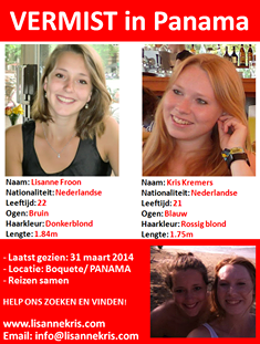 Missing in Panama 2 Dutch Jung Lady's
