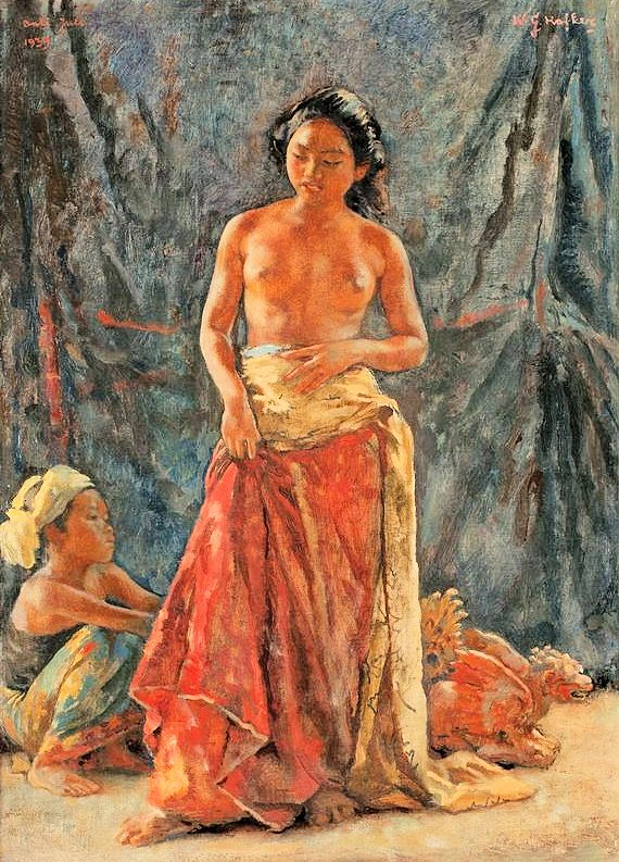 Willem Gerard Hofker: Bali, 1939.