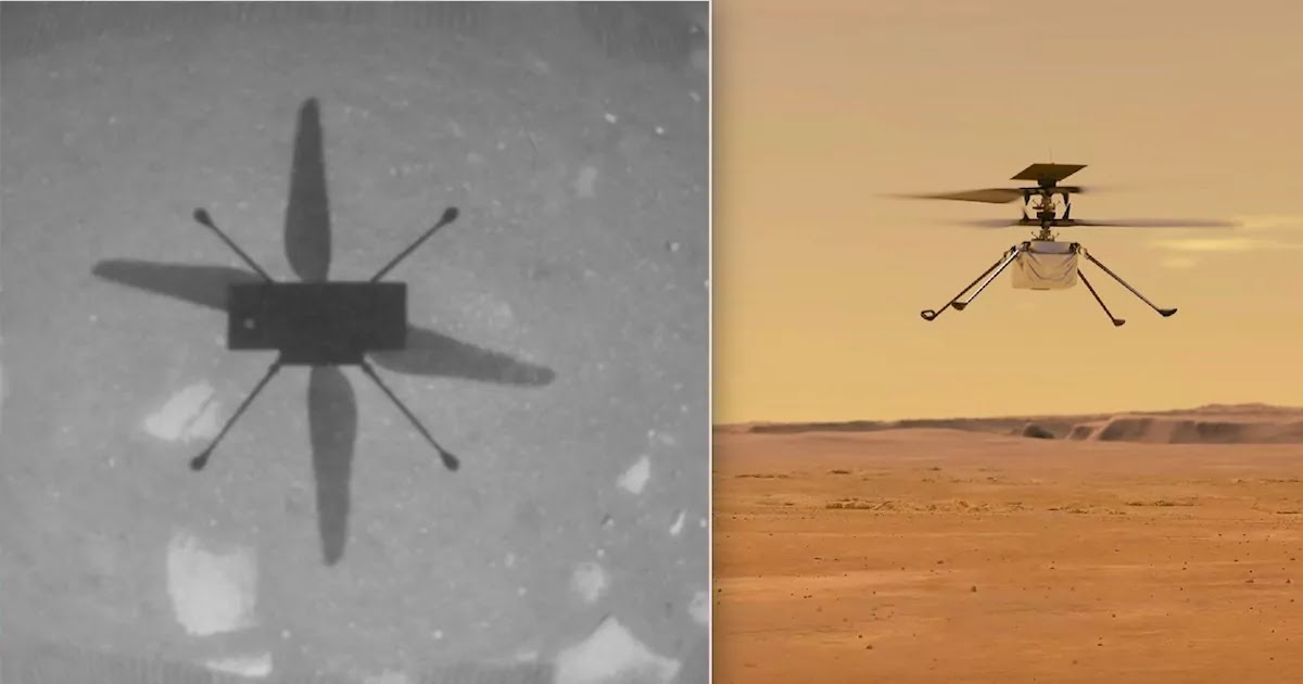 NASA Successfully Flies Helicopter In Mars